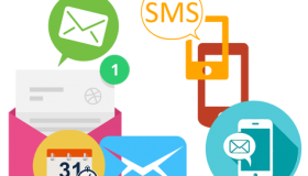 Timely SMS/mails