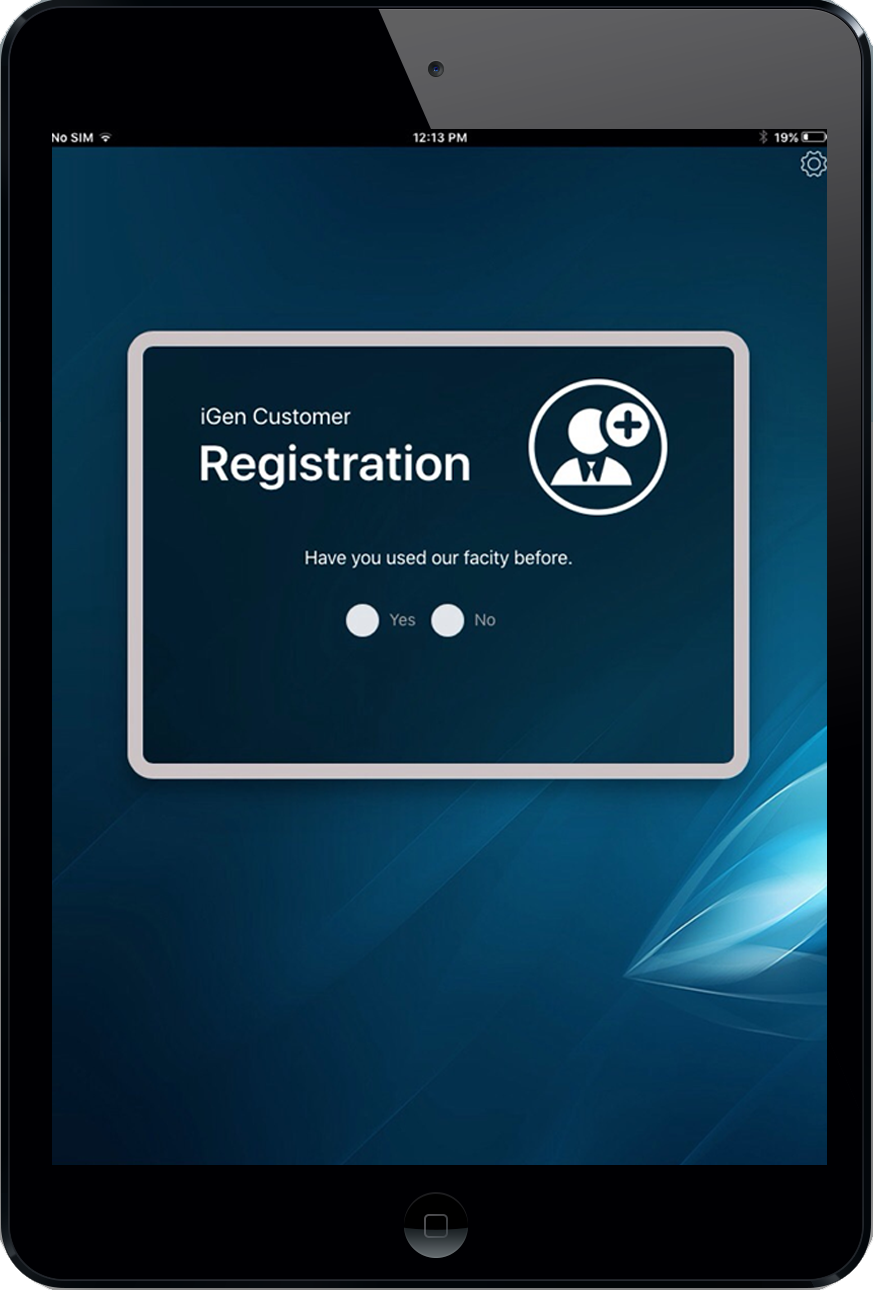 iGen Customer Registration Application